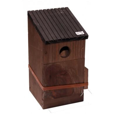 Къщичка за птици с 3 варианта на отвор - 2