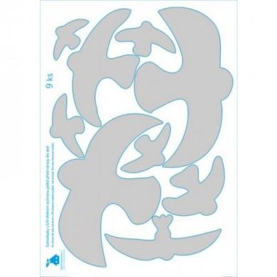 УВ защитни стикери - силуети (сменяеми)