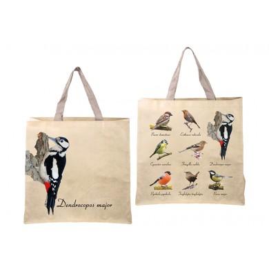 Чанта за пазар с птици