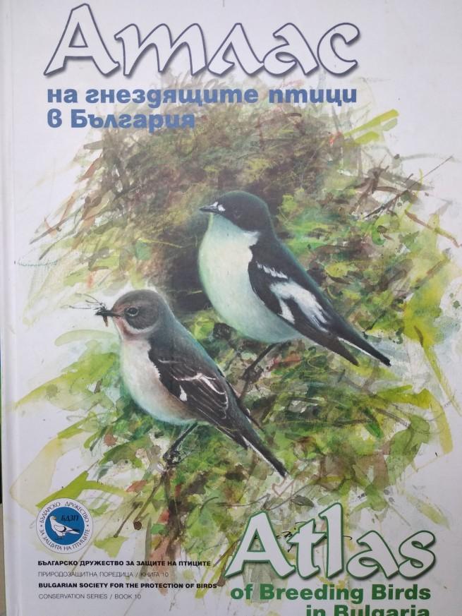 Атлас на гнездящите птици в България