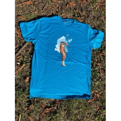 Мъжка тениска земеродно рибарче