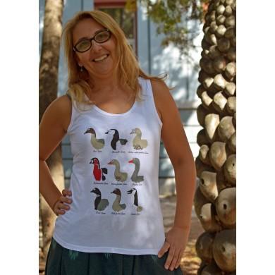 Дамски потник с гъски