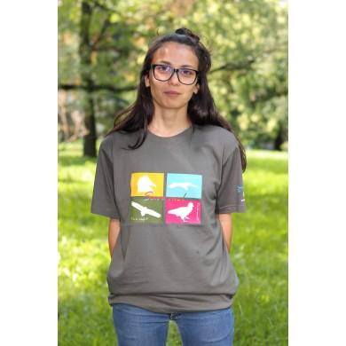 Тениска лешояди - силуети