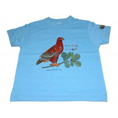 Детска тениска Нека има гори, за да има орли