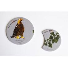 Магнит-пъзел с царски орел и черна топола