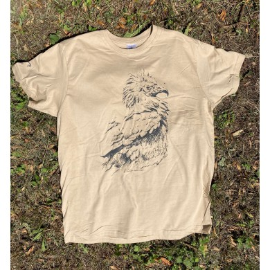 Мъжка тениска с египетски лешояд