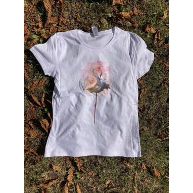 Дамска тениска фламинго