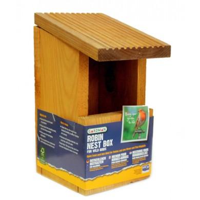 Къщичка за червеногръдки