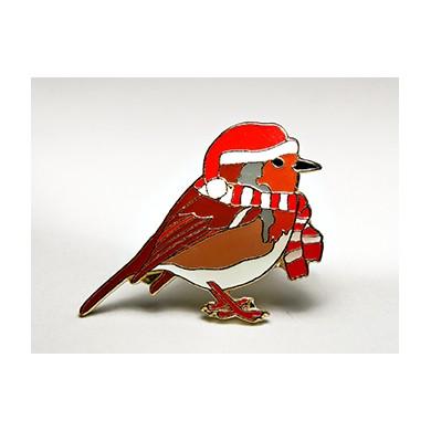 Коледна червеношийка