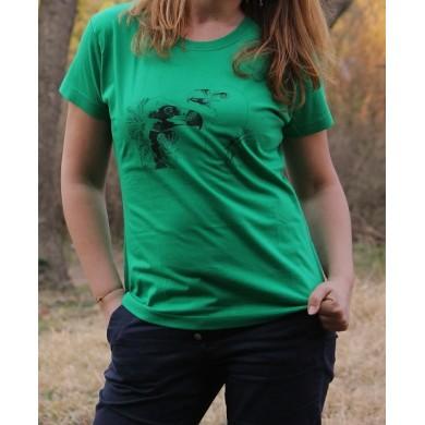 Тениска с черен и белоглав лешояд